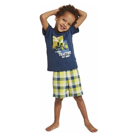 Piżama chłopięca 789/79 kids tractor Cornette