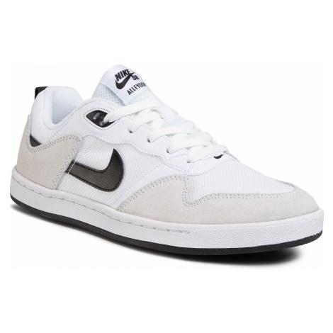 Buty NIKE - Sb Alleyoop CJ0882 100 White/Black/White