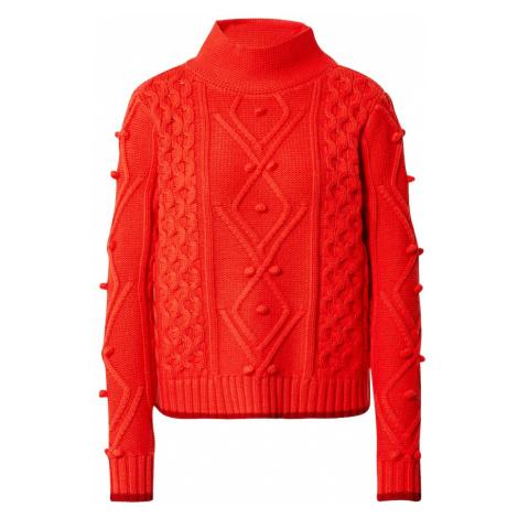 LIEBLINGSSTÜCK Sweter 'Shirona' ciemnopomarańczowy