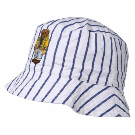 POLO RALPH LAUREN Kapelusz 'REVERSIBLE BUCKET CAP' biały