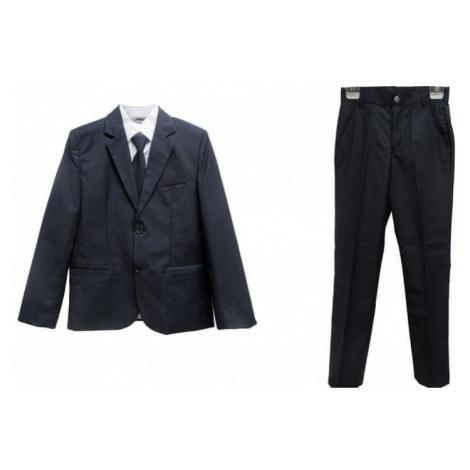 Topo zestaw chłopięcy garnitur z krawatem niebieski
