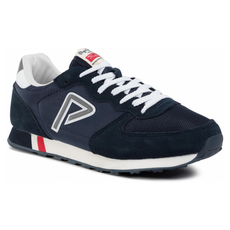 Sneakersy PEPE JEANS - Klein Archive PMS30592 Navy 595