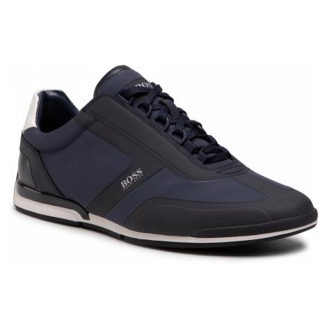 Sneakersy BOSS - Saturn 50452024 10235008 01 Dark Blue 401 Hugo Boss