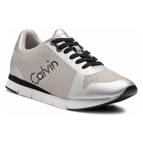 Sneakersy CALVIN KLEIN JEANS - Jacques SE8603 Silver
