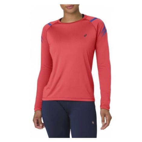 Asics ICON LS 1/2 W czerwony XS - Koszulka sportowa damska