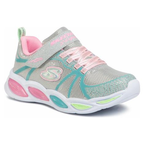 Sneakersy SKECHERS - Sporty Glow 302042L/GYMT Gray/Mt