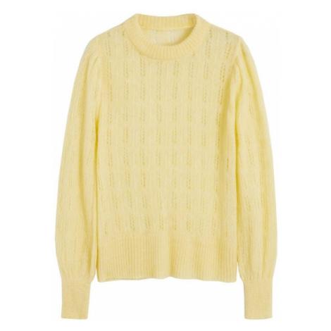 MANGO Sweter 'Rocio' żółty
