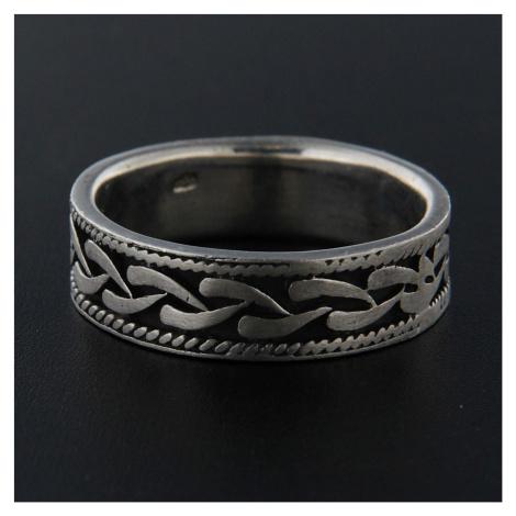 Pierścionek srebrny 13926