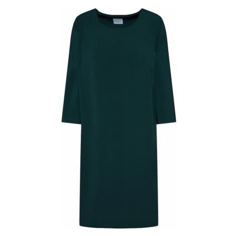 VILA Sukienka 'NATHALIA' ciemnozielony