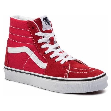 Sneakersy VANS - Sk8/Hi VN0A4BV6JV61 Racing Red/True White VN0A4BV6JV61