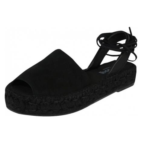 Espadrij l´originale Sandały 'Mimizan Noir' czarny
