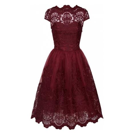 Chi Chi London Sukienka 'Jimima Dress' bordowy
