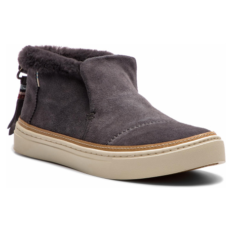 Botki TOMS - Paxton 10012386 Forged Iron Grey Suede