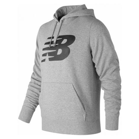 New Balance Large Logo Hoodie Mens