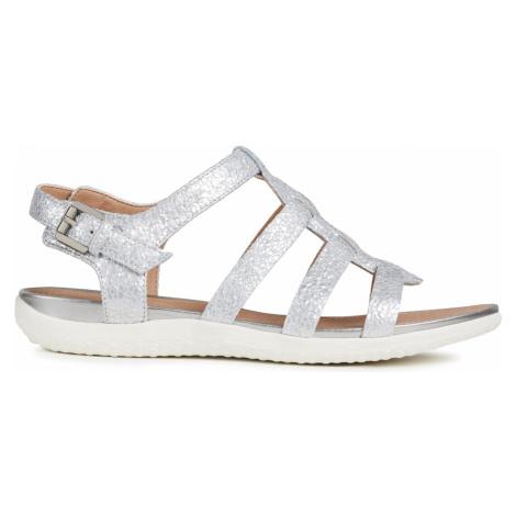 Geox Vega Sandały Srebrny
