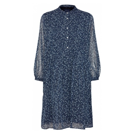GANT Sukienka koszulowa atramentowy / naturalna biel