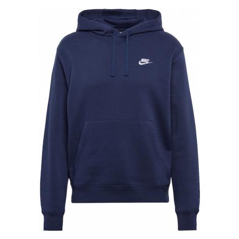 Nike Sportswear Bluzka sportowa 'Club' ciemny niebieski