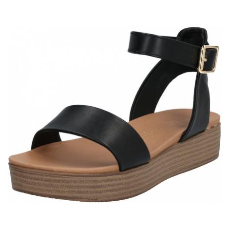 NEW LOOK Sandały 'GENIUS' czarny