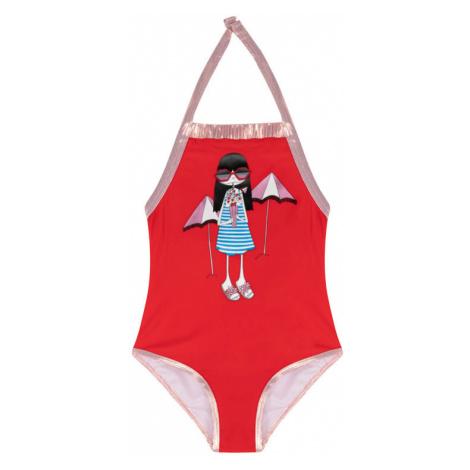 Little Marc Jacobs Strój kąpielowy W10150 M Czerwony