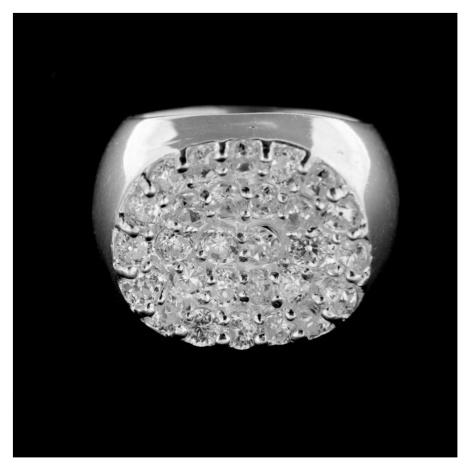 Pierścionek srebrny 14962