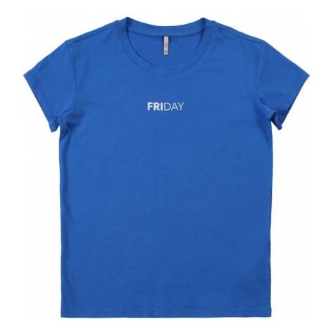 KIDS ONLY Koszulka 'WEEKDAY' niebieski / biały