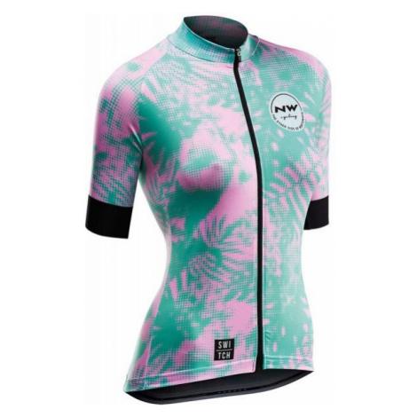 Northwave LEAVES różowy S - Koszulka rowerowa damska North Wave