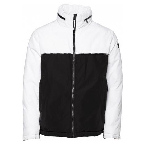 Champion Authentic Athletic Apparel Kurtka zimowa czarny / biały