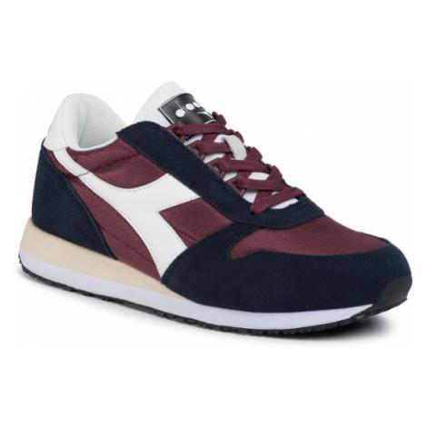 Diadora Sneakersy Caiman 501.175122-C8502 Bordowy