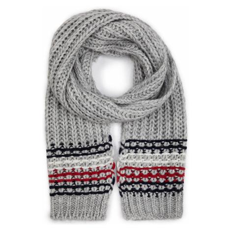 Szal TOMMY HILFIGER - Chunky Stitch Knit Scarf AW0AW07214 PG5