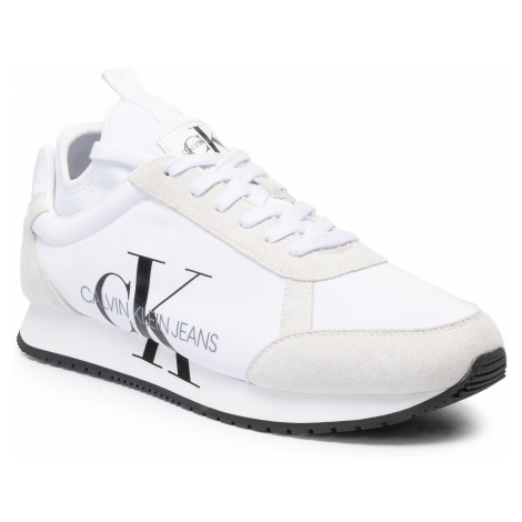 Sneakersy CALVIN KLEIN JEANS - Jemmy B4S0136 White