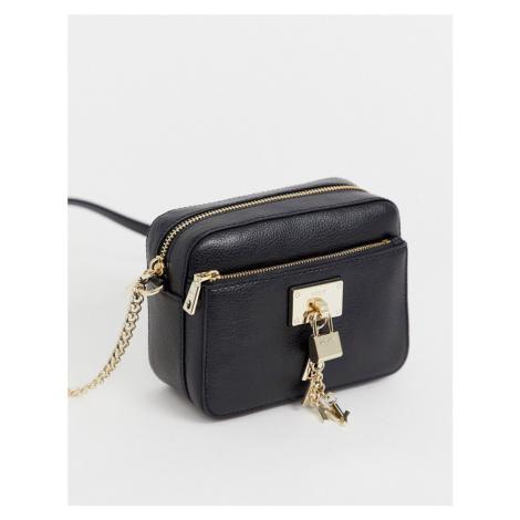 DKNY Elissa crossbody bag with lock charm detail