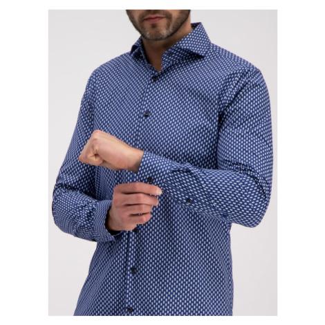 Joop! Koszula 30014353 Granatowy Slim Fit