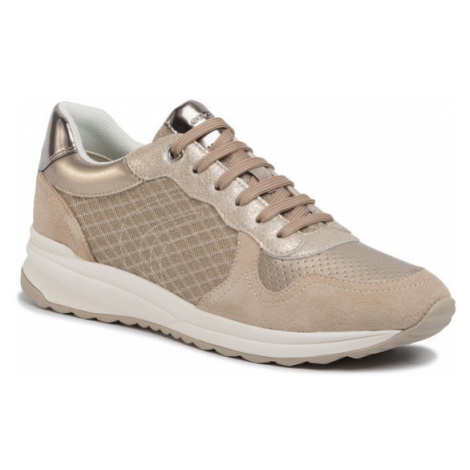 Geox Sneakersy A Airell A D022SA 0GN22 C6738 Złoty