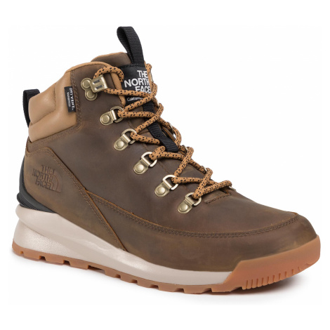 Trekkingi THE NORTH FACE - Back-To-Berkeley Mid Wp NF0A4AZEYW21 Utility Brown/Tnf Black