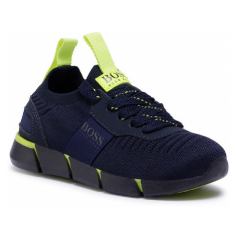 Boss Sneakersy J29217 M Granatowy Hugo Boss