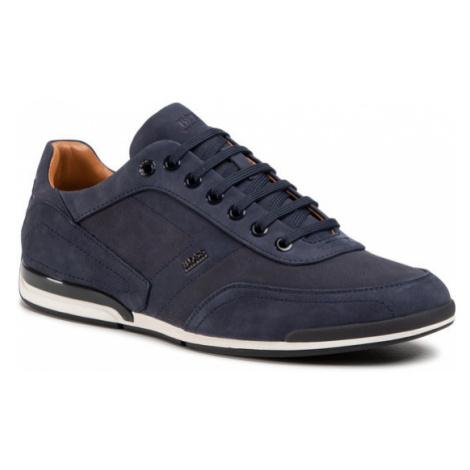 Boss Sneakersy Saturn 50445685 10214613 01 Granatowy Hugo Boss