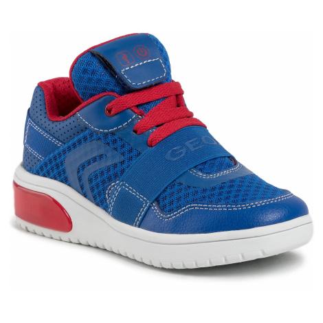 Sneakersy GEOX - J Xled B. B J927QB 01454 C0833 M Royal/Red