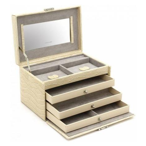 Friedrich Lederwaren Biżuteria Beige / Grey Jolie 23254-30