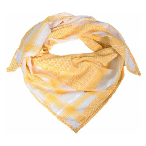 Zwillingsherz Maska z materiału 'Joleen ' żółty