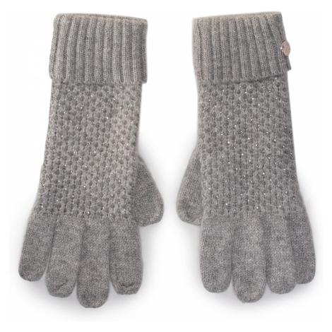 Rękawiczki Damskie LIU JO - Guanti Nido Dape 2F0023 M0300 Glacial Grey 44102