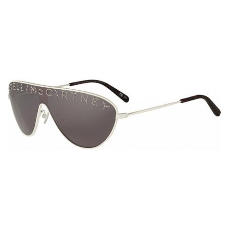 Stella McCartney Okulary przeciwsłoneczne 'SC0195S 99' szary / biały
