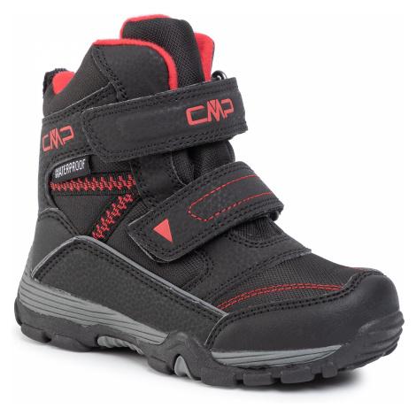 Śniegowce CMP - Kids Pyry Snow Boot Wp 38Q4514 Nero U901