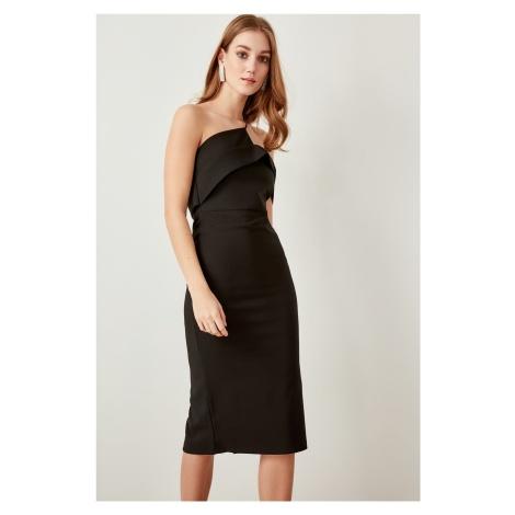 Trendyol Black Strap Detailed Dress