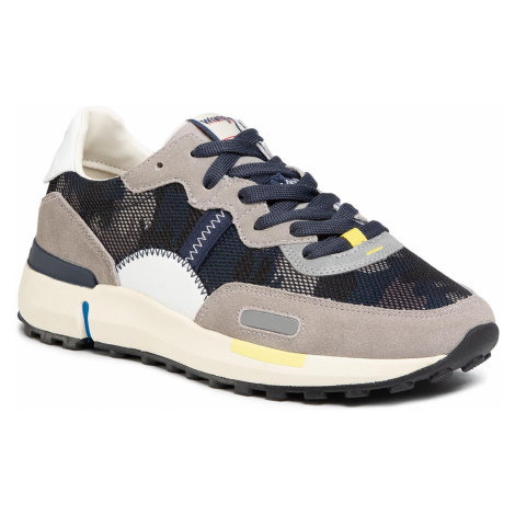 Sneakersy WRANGLER - Iconic 70 Ns WM01121A Camouflage 099