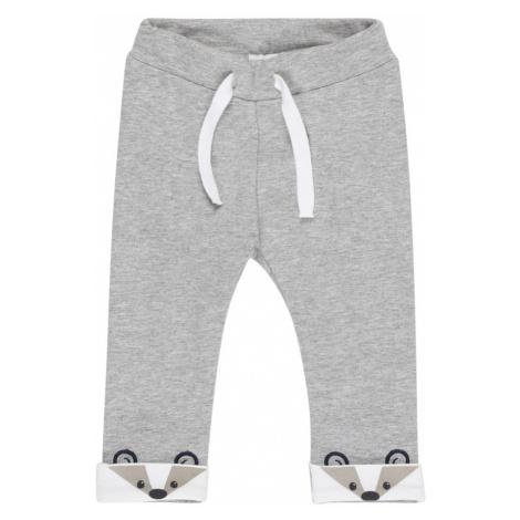 NAME IT Spodnie ciemny niebieski / szary / biały