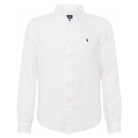 POLO RALPH LAUREN Koszula 'SL BD PPC SP-LONG SLEEVE-SPORT SHIRT' biały