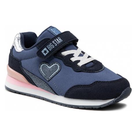 Sneakersy BIG STAR - HH374110 Navy
