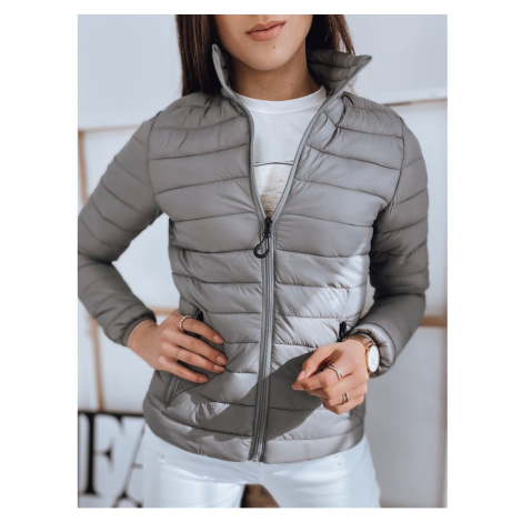 Women's quilted jacket EMMA gray TY1745 DStreet