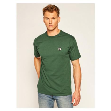 Vans T-Shirt Classic VN0A4RRE Zielony Regular Fit