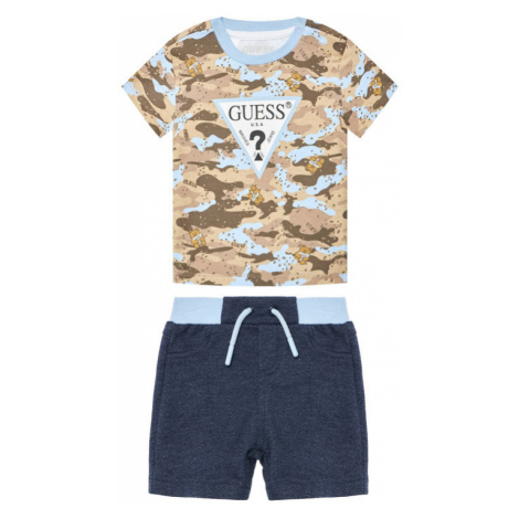 Guess Komplet t-shirt i spodenki I1RG10 K83S0 Kolorowy Regular Fit